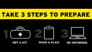 3 steps to preparedness