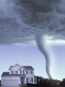 house tornado